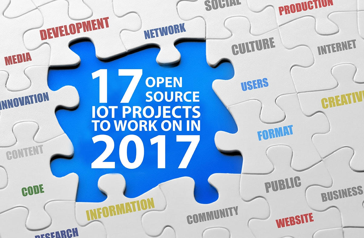 17 open source IoT projects to work on in 2017