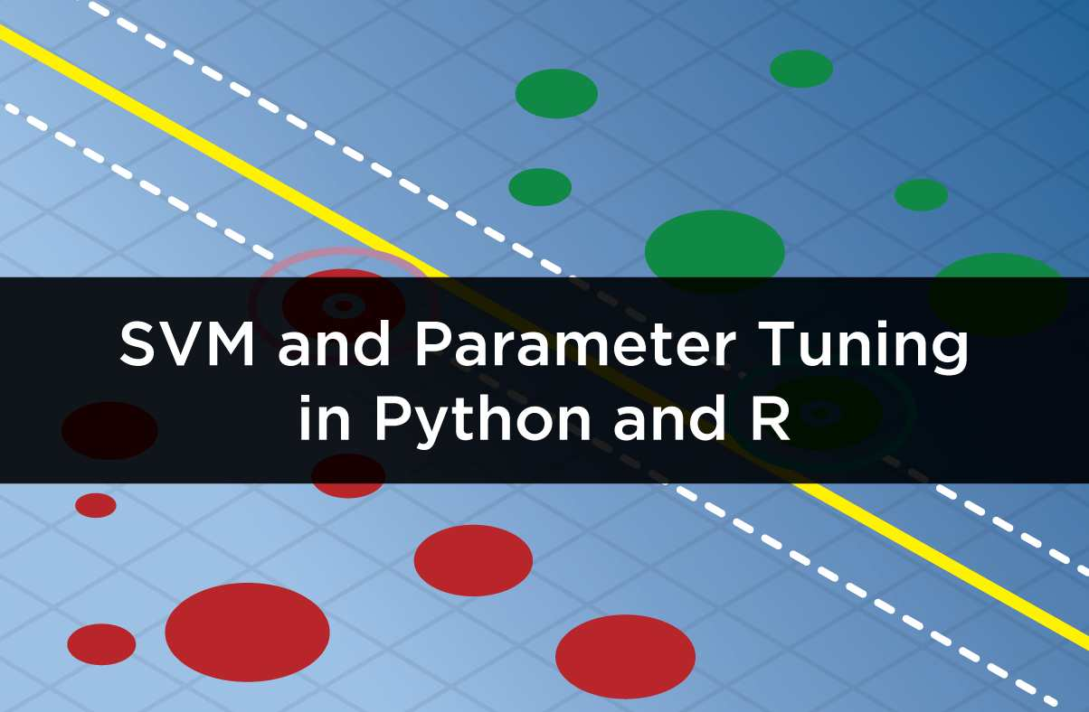 SVM with Python and R
